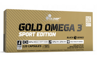 Suplement Gold Omega 3 Sport Edition 120 kapsułek