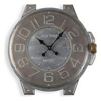 Zegar Ścienny Metal Drewno MDF (60 x 4,5 x 58 cm)
