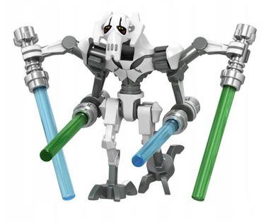 MEGA figurka Star Wars GEN. GRIEVIOUS +karta lego