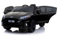 Import LEANToys Auto na akumulator Ford Focus Czarne Lakierowane