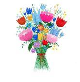 Karnet B6 Kwiaty bukiet