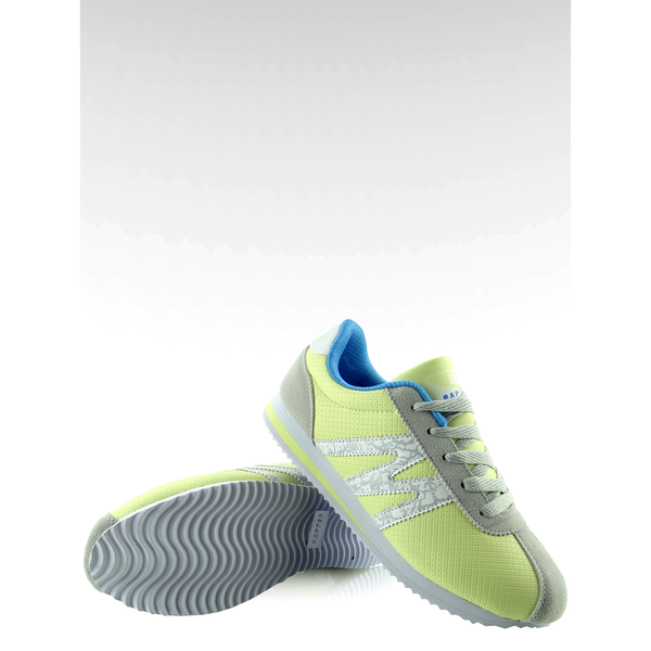 Buty sportowe bardzo wygodne B683 żółte r.40