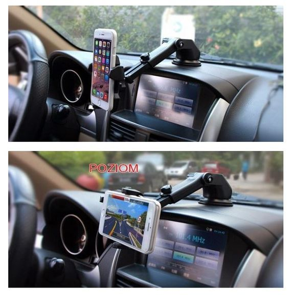 Uchwyt samochodowy na telefon smartfon do kokpitu deski (chropowaty) na Arena.pl