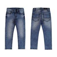 Mayoral spodnie jeansowe chłopięce slim fit 122