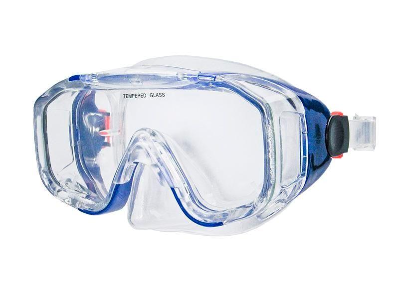 Maska do nurkowania Allright Sinope senior Niebieska na Arena.pl