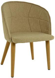 Fotel Dankor Design LIŚĆ beżowy