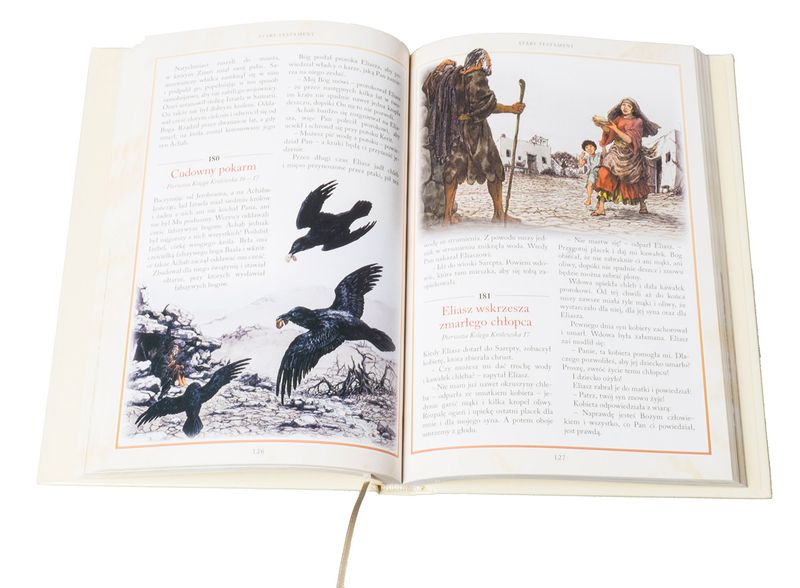 BIBLIA DLA DZIECI 365 HISTORII z grawerem PAMIĄTKA CHRZTU KOMUNII zdjęcie 4
