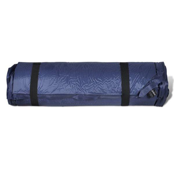 Dmuchany materac, niebieski (10 x 66 x 200 cm). zdjęcie 5