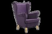 Fotel tapicerowany USZAK skandynawski pikowany SZYBKA DOSTAWA kolory zdjęcie 3