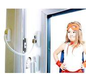 Blokada okienna SREBRNA Zabezpieczenie okna dzieci Uchylenie kluczyk zdjęcie 11