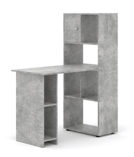 Biurko regał ALPAKA 1002 biuro domowe beton
