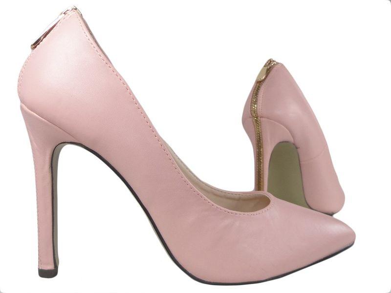 3265b7e7 Jasno różowe pink buty szpilki z ekspresem Rozmiar Buta - 36 • Arena.pl