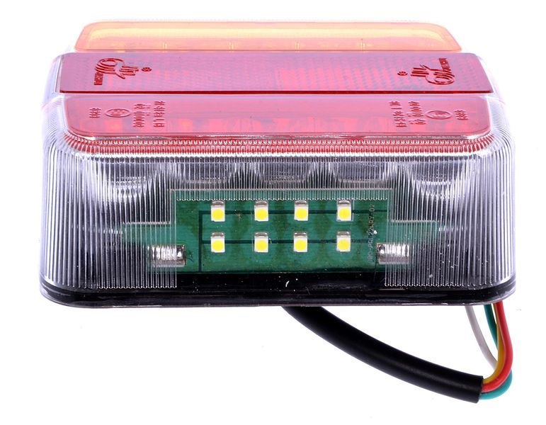 Lampa led zespolona diodowa tylna przyczepki 12V zdjęcie 2