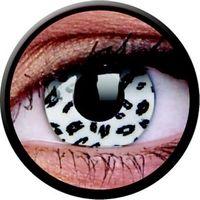 Crazy Lens - White Leopard, 2 szt.