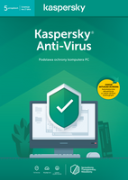 Kaspersky Anti-Virus 5 komputerów / 2 lata