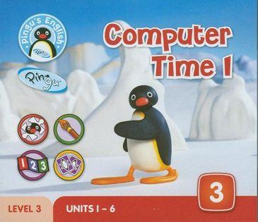 Pingu's English Computer Time 1 Level 3 Hicks Diana, Scott Daisy, Raggett Mike