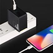 ROCK Ładowarka USB-C Quick Charge + KABEL IPHONE 7 8 X iPad zdjęcie 12