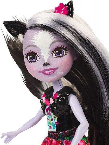 Enchantimals Sage Skunk Lalka + zwierzaczek skunks Mattel DYC75 DVH87 zdjęcie 4