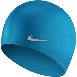 Czepek pływacki Nike Os Solid Junior niebieski TESS0106-458