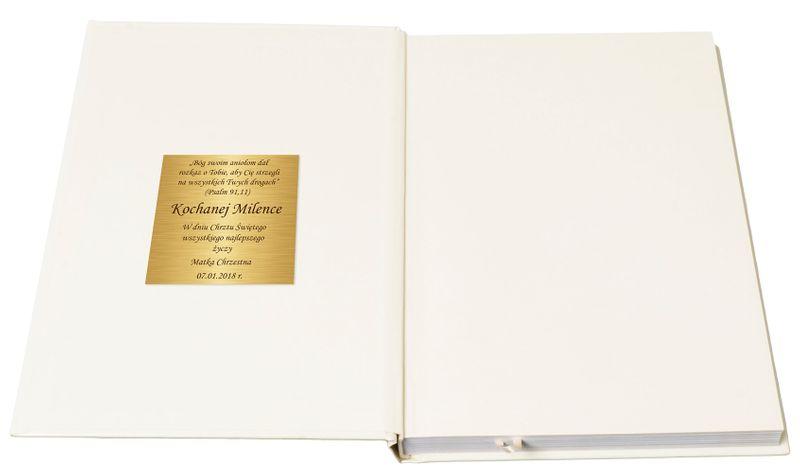 BIBLIA DLA DZIECI 365 HISTORII z grawerem PAMIĄTKA CHRZTU KOMUNII zdjęcie 3