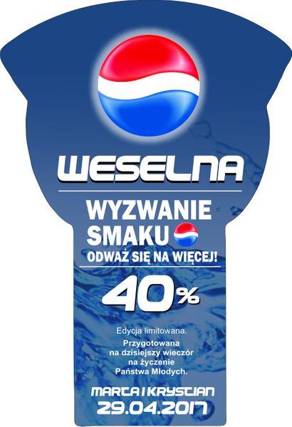 NAKLEJKI NA WÓDKĘ WESELNĄ ETYKIETY ŚLUB 8szt. na Arena.pl