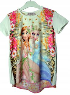 Bluzka Frozen, bawełna roz.152
