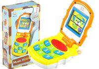 Kolorowy Muzyczny Telefon Komórkowy Dla Maluszka