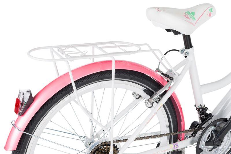 Rower 24 KANDS LAGUNA VS-2 stożek biało-różowy zdjęcie 8