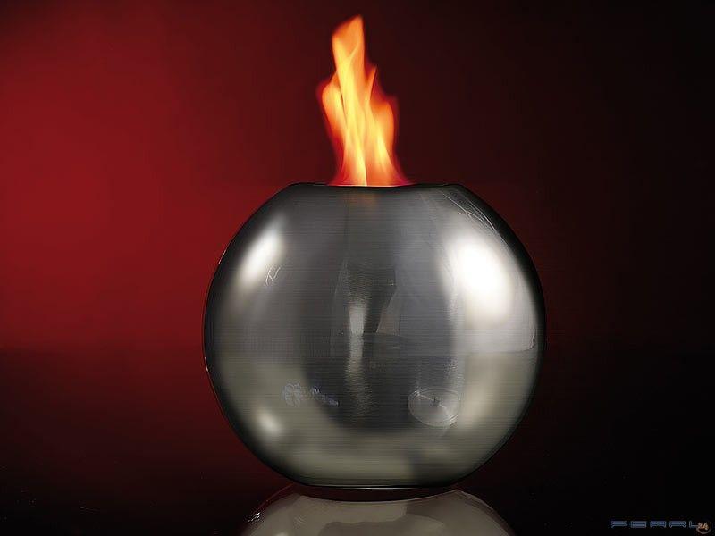Biokominek w kształcie KULI / lampa na bioetanol zdjęcie 2