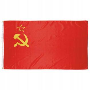 Flaga na maszt 90 x 150 cm ZSRR