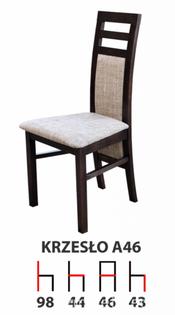 Krzesła Krzesło Tanio A46 Producent  Drewniane Bukowe