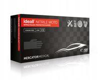 Rękawice nitrylowe ideall NITRILE MOTO M  karton 10 x 100 szt