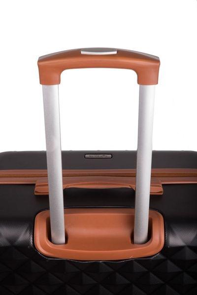 Walizka kabinowa torba podróżna twarda ABS mała S bordowa NOWY MODEL! zdjęcie 5