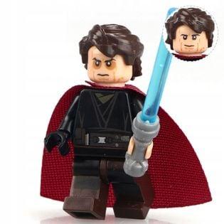 MEGA figurka Star Wars ANAKIN MAD +karta lego