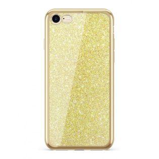 Etui Nakładka Electro Glitter  IPHONE 7/ 8 Złoty