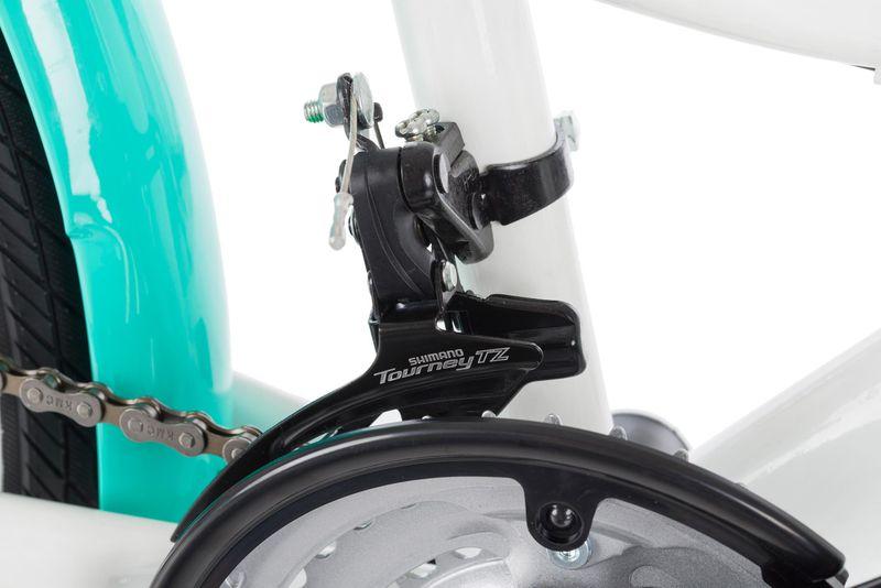 Rower 24 KANDS LAGUNA VS-1 ZWK biało-miętowy zdjęcie 13