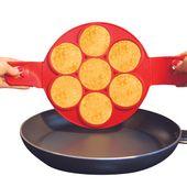 FORMA SILIKONOWA do Pancake'ów Naleśników Jajek