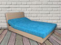 Łóżko tapczan do sypialni ŁÓŻKA NA WYMIAR Z MATERACEM POJEMNIKIEM
