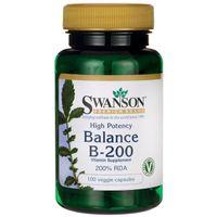 SWANSON Balance B-200 100kap Witamina B-Complex