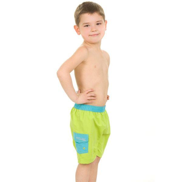 Szorty pływackie SURF-CLUB Kolor - Stroje męskie - Surf-club - 04 - zielony, Rozmiar - Stroje dziecięce - 116 (5A) zdjęcie 2