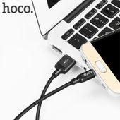 Wzmacniany kabel Micro USB  hoco x14 nylonowy oplot 1m zdjęcie 4