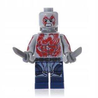 MEGA figurka avengers Drax Destroyer +karta lego
