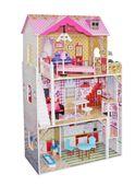 Drewniany domek dla lalek LILA #ZZ2