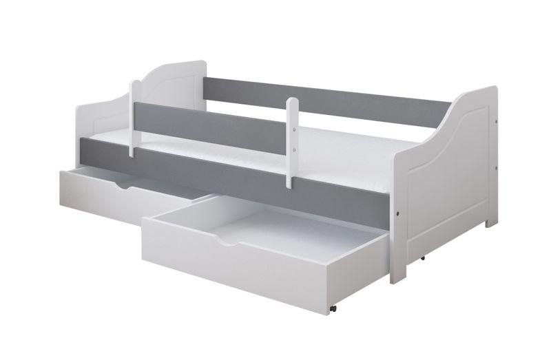 Łóżko LILI 180 x 80 + DWIE SZUFLADY + MATERAC PIANKOWY GRATIS na Arena.pl