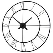 Zegar ścienny Vintage Duży Metalowy 70 cm okrągły