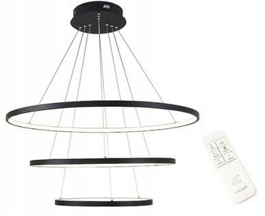 Lampa wisząca ring Wobako SILVA III ring 20/40/60 okrąg żyrandol LED
