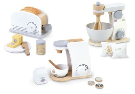 Zestaw małego AGD: toster/mikser/ekspres do kawy