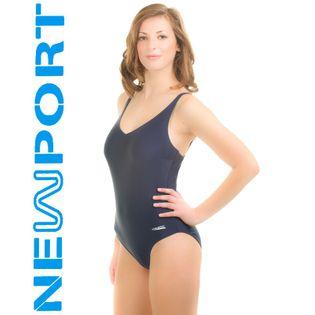Kostium pływacki ELA Rozmiar - Stroje damskie - 36(S), Kolor - Stroje damskie - Eva - 04 - granat