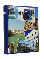 ALBUM, albumy na zdjęcia szyty 200 zdjęć 10x15 cm opis 1139 niebieski