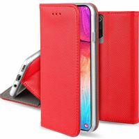 Etui XIAOMI REDMI 9A portfel z klapką Flip Magnet czerwone